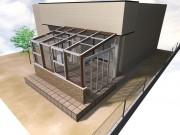 杉戸町 ガーデンルーム(サンルーム) ココマ 腰壁タイプ