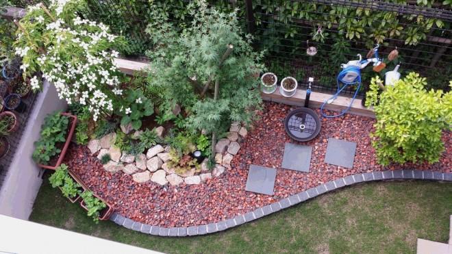 俯瞰した庭 ~さいたま市大宮区~ 三光ソフラン