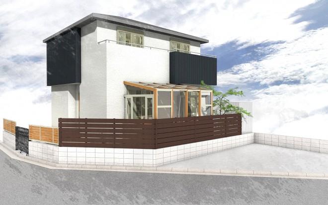 ガーデンルーム(サンルーム) ココマ 腰壁タイプ 埼玉県久喜市