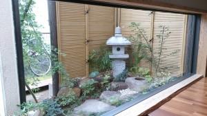 久喜市  T様邸  外からも中からも楽しめる坪庭完成!