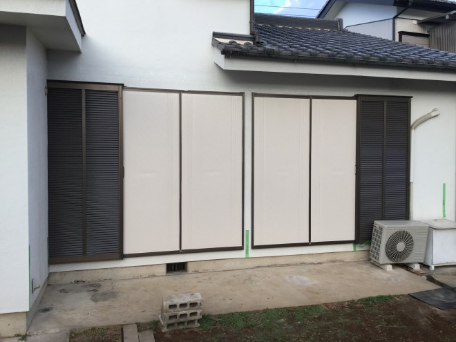 埼玉県久喜市 LIXIL ガーデンルーム ジーマ軒プラス ウリンデッキ