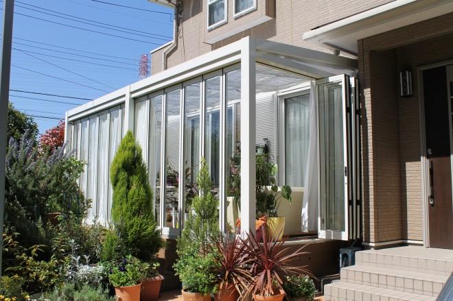 越谷市 ガーデンルームジーマで寛ぎの空間にリフォーム