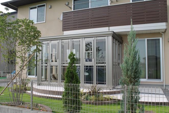 LIXIL ガーデンルーム 暖蘭物語であこがれのガーデンに 埼玉県幸手市