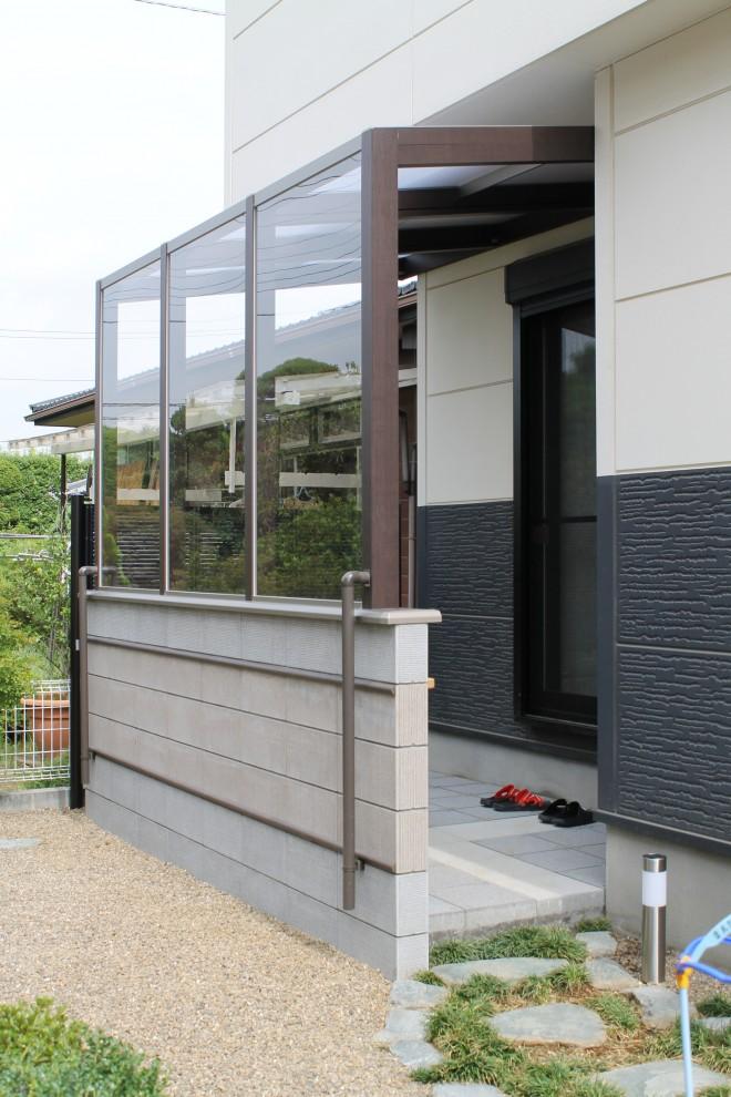 ガーデンラウンジ ココマ サイドスルー腰壁タイプ 加須市