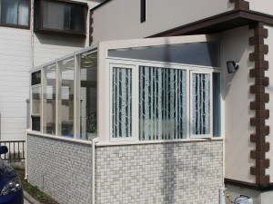 ガーデンルーム ココマ L型腰壁タイプ 三郷市