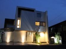 春日部 外構施工例|ライティング|照明|埼玉県|大興