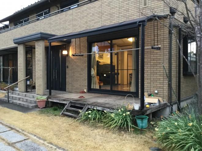 ガーデンルーム(サンルーム) 暖蘭物語 リフォーム 埼玉県久喜市 現場加工