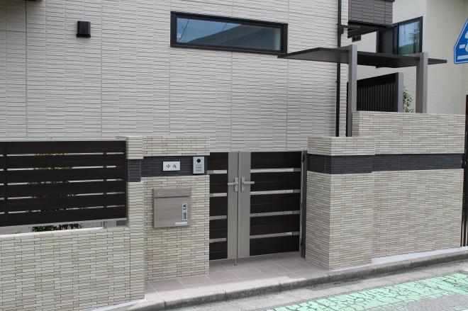 リクシル プラスG 目隠し 外構施工例|埼玉県さいたま市