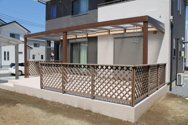 リクシル ガーデンルーム ジーマ 天井材 クリエアイボリー|大興|久喜市