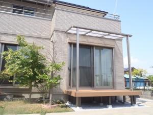 LIXIL 樹脂デッキとサンクテラスで快適空間に 埼玉県北本