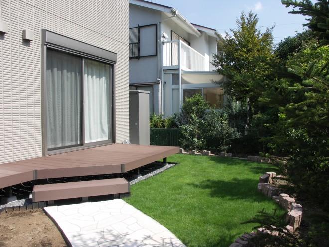 ガーデンリフォーム 久喜市 リクシル 樹ら楽ステージ