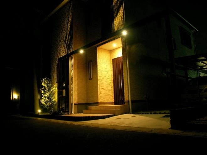 プラスG LEDダウンライトで趣きのある夜の空間へ 白岡市 タマホーム