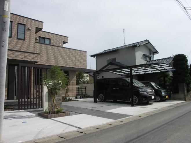 プラスGでコーディネートしたフレームデザイン ヘーベルハウス 加須市