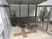 リクシル ガーデンラウンジ ココマ腰壁タイプでリフォームガーデン