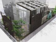 リクシル ガーデンラウンジココマ腰壁タイプでセカンドリビングを満喫 リフォームガーデン施工例