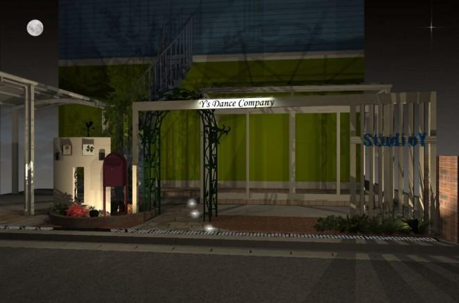タカショー エバースクリーンフレームにてホワイトで存在感のあるファザードにre・garden さいたま市