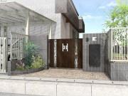 埼玉県白岡市 外構エクステリアプラン 宅配ボックス フーゴFワイド