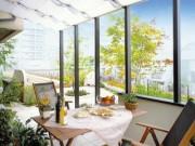 ガーデンラウンジ ココマ サイドスルー腰壁+ オープンテラス